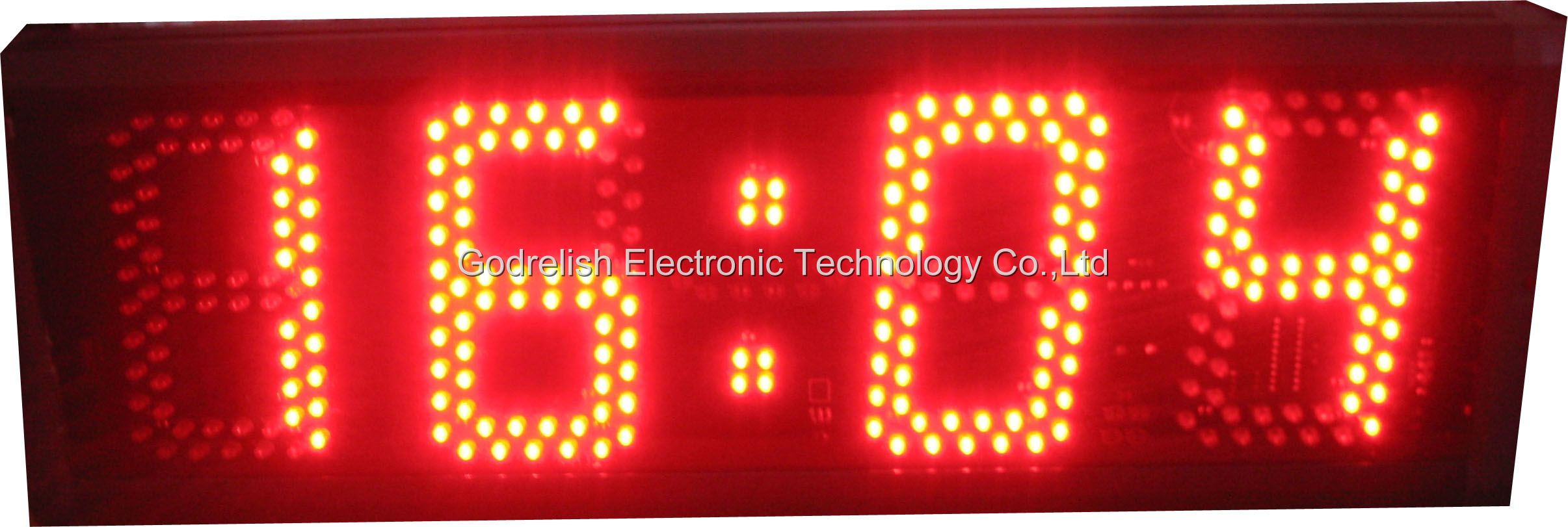 Digital Clock Circuit Diagram Gc504 Led